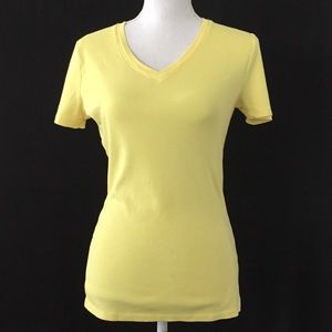 MERONA 'Ultimate Tee'.  Bright yellow, size M. EUC